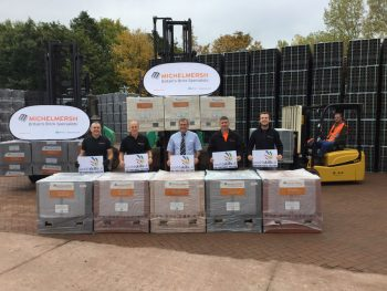 Supporting bricklaying education on an international stage