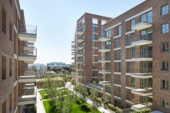 Tactile Freshfield Lane bricks evoke solidity & permanence